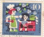 Sellos de Europa - Alemania -  cuentos populares