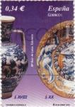 Stamps Spain -  ceramica española
