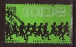 Stamps Mexico -  MEXICO 68