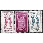 Stamps Spain -  Sahara Edifil 246 247 y 248