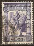 Sellos del Mundo : Africa : Mozambique : Afonso de Albuquerque en 1938 cuestión de Macao.