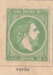 Sellos de Europa - España -  Carlos VII Ed 1875
