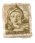 Stamps Italy -  mujer