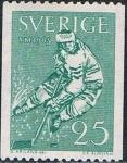 Sellos de Europa - Suecia -  CAMPEONATO DEL MUNDO DE HOCKEY SOBRE HIELO. Y&T Nº 501