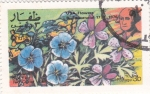 Stamps Oman -  flores
