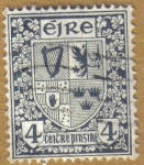 Stamps Europe - Ireland -  Escudo de Armas