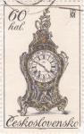 Stamps Czechoslovakia -  reloj