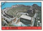 Sellos de Asia - Emiratos Árabes Unidos -  teatro griego