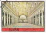 Stamps United Arab Emirates -  Roma: Basilica de San Pedro