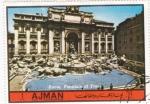 Sellos de Asia - Emiratos Árabes Unidos -  Roma: Fontana de Trevi