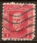 Sellos del Mundo : Europa : República_Checa : Presidente Masaryk.