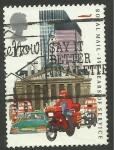 Sellos de Europa - Reino Unido -  1186 - 350 anivº de los servicios postales británicos