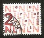 Stamps Netherlands -  1896 - euro cent, cifra