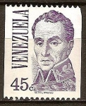 Sellos de America - Venezuela -  Bolívar (JM Espinosa)
