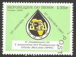Stamps : Africa : Benin :  792 - X anivº de la asociación de productores de petroleo africanos
