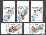 Sellos de America - Cuba -  Atlanta 96