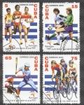 Stamps Cuba -  Juegos Olimpicos Sydney 2000