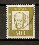 Stamps Germany -  Franz Oppenheimer.