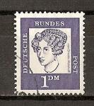 Sellos de Europa - Alemania -  Annette von Droste-Hulshoff.
