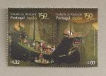 Stamps Portugal -  150 Aniv tratado amistad con Japón