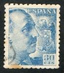 Sellos de Europa - España -  1049-  GENERAL FRANCO.