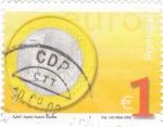 Sellos de Europa - Portugal -  moneda de 1  €