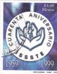 Stamps Mexico -  4o aniversario