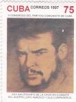 Sellos de America - Cuba -  xxx aniv.de la caida en combate del guerrillero