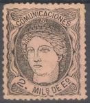 Stamps Spain -  ESPAÑA 103 EFIGIE ALEGORICA DE ESPAÑA