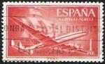 Stamps Spain -  Superconstelación y Nao Santa Maria