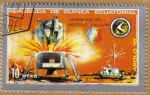 Stamps Africa - Equatorial Guinea -  APOLO 15 - Despegue del modulo FALCON 10