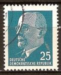 Sellos de Europa - Alemania -  Presidente del Consejo de Estado,Walter Ulbricht (DDR)