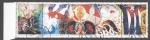Stamps Cuba -  Aniversario 25 del crimen de Barbados