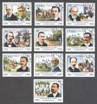 Stamps Cuba -  Centenario de la guerra de la independencia