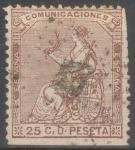Stamps Spain -  ESPAÑA 135 ALEGORIA DE ESPAÑA