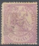 Stamps : Europe : Spain :  ESPAÑA 148 ALEGORIA DE LA JUSTICIA