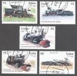 Stamps Cuba -  Locomotoras de vapor
