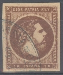 Stamps Spain -  ESPAÑA 161 CARLOS VII
