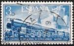 Stamps Spain -  XVII Congreso Internacional de Ferrocarriles