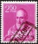 Sellos de Europa - España -  Canonización del Beato Juan de Ribera