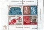 Stamps : Europe : Spain :  4 Abril Exposición Mundial de Filatelia
