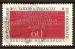Sellos de Europa - Alemania -  La soberanía popular (idea básica de la democracia).