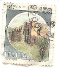 Stamps Italy -  Castillo