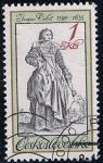 Stamps Czechoslovakia -  2563 - traje de época
