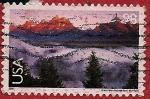 Stamps United States -  Parque Nacional Grand Teton - Wyoming
