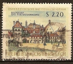 Sellos del Mundo : Europa : Austria : Biblioteca Nacional de Austria, Viena