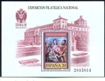 Stamps : Europe : Spain :  20 de Mayo Exposición Filatelica Nacional EXFILNA 89