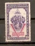 Stamps Nicaragua -  VICTORIA