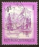 Sellos del Mundo : Europa : Austria : Lago Almsee.