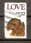Stamps United States -  PUPPY